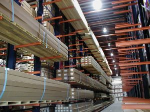 Ross Technology Dexco Heavy Duty Structural Cantilever Racking
