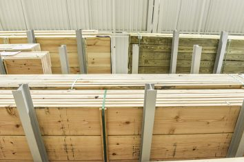 Ross Technology Dexco Heavy Duty Structural Cantilever Racking Lumber