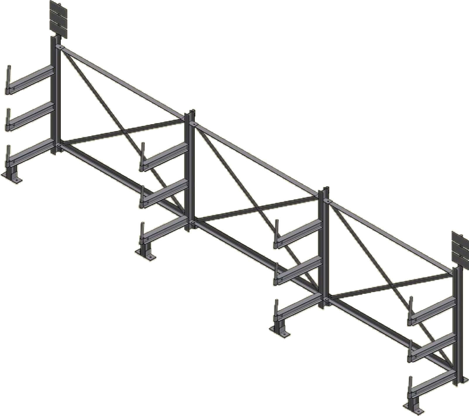 Dexco Structural I Beam Specialized Rack Systems Ross