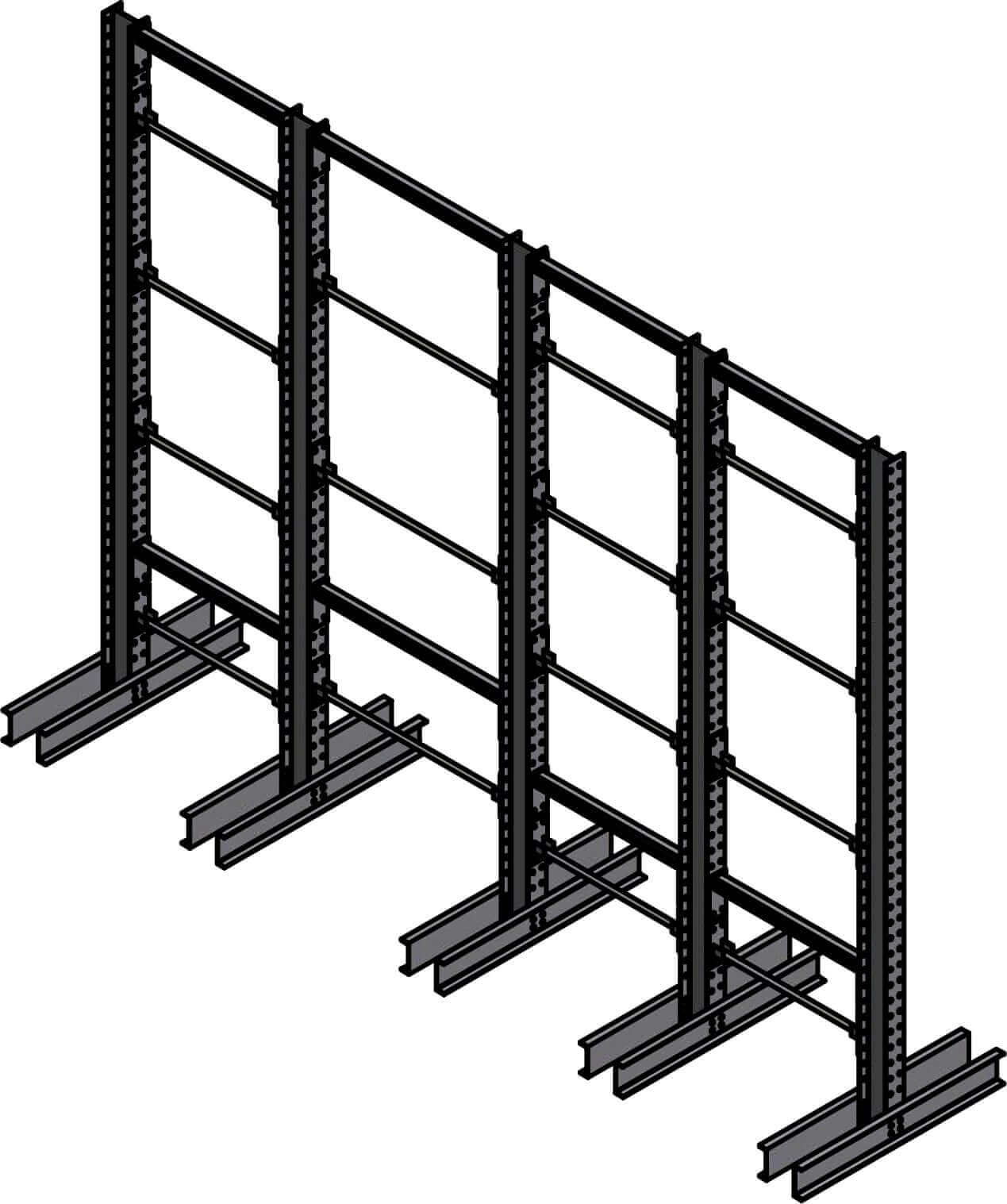 Dexco Structural I-Beam Specialized Rack Systems