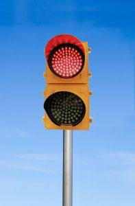 Traffic Light - Pole
