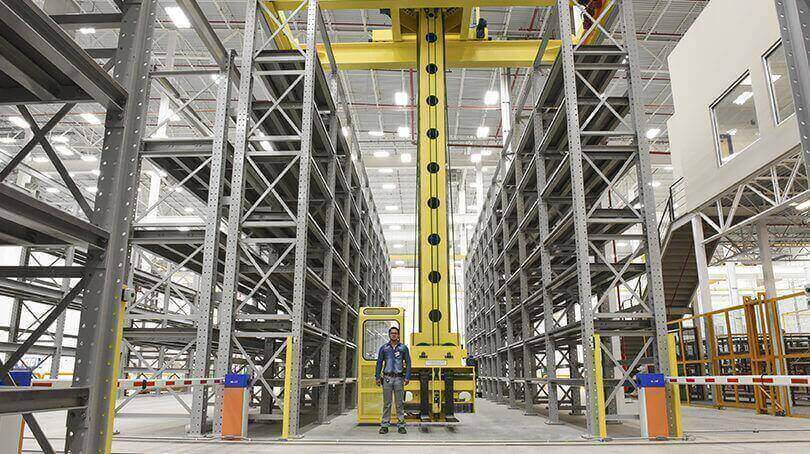 Ross Technology Rapistak Stacker Storage System for Tier-One Automotive Supplier in Mexico
