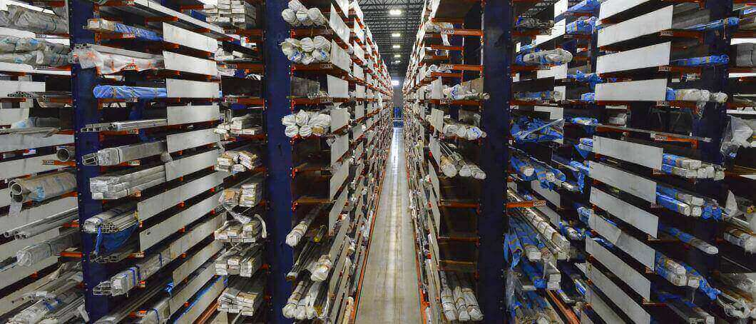 Ross Technology Dexco Cantilever Racking System