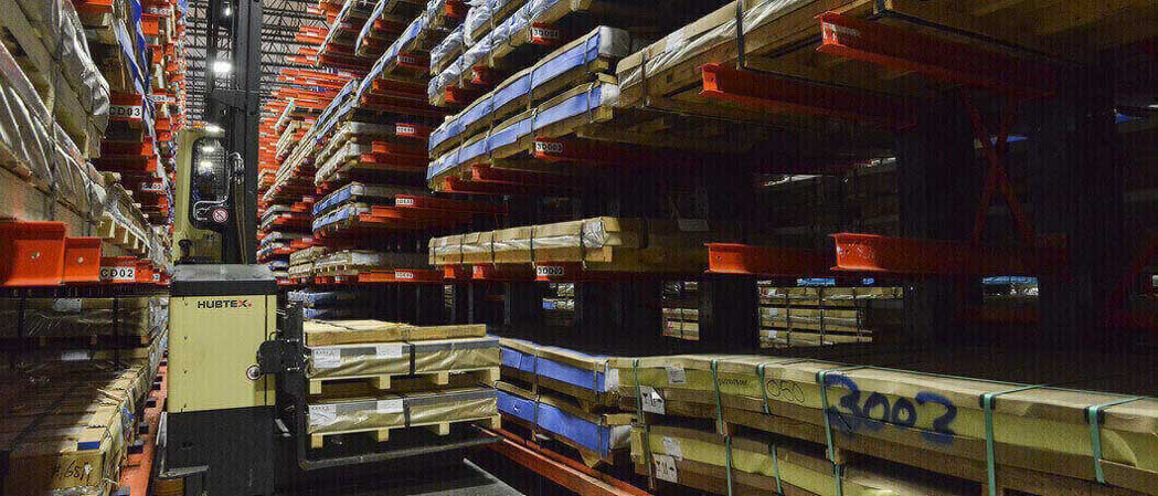 Ross Technology Dexco Structural Cantilever Racking