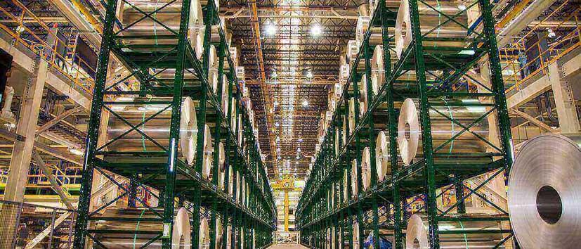 Vertical Storage For Raw Materials Dexco Storage Racks