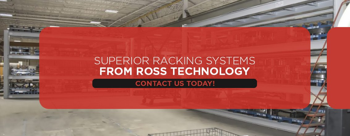 Dexco superior warehouse racks by Ross Technology