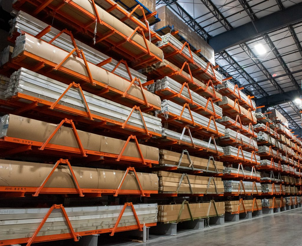 Ross Technology Industrial Storage Dexco Structural Racking Systems