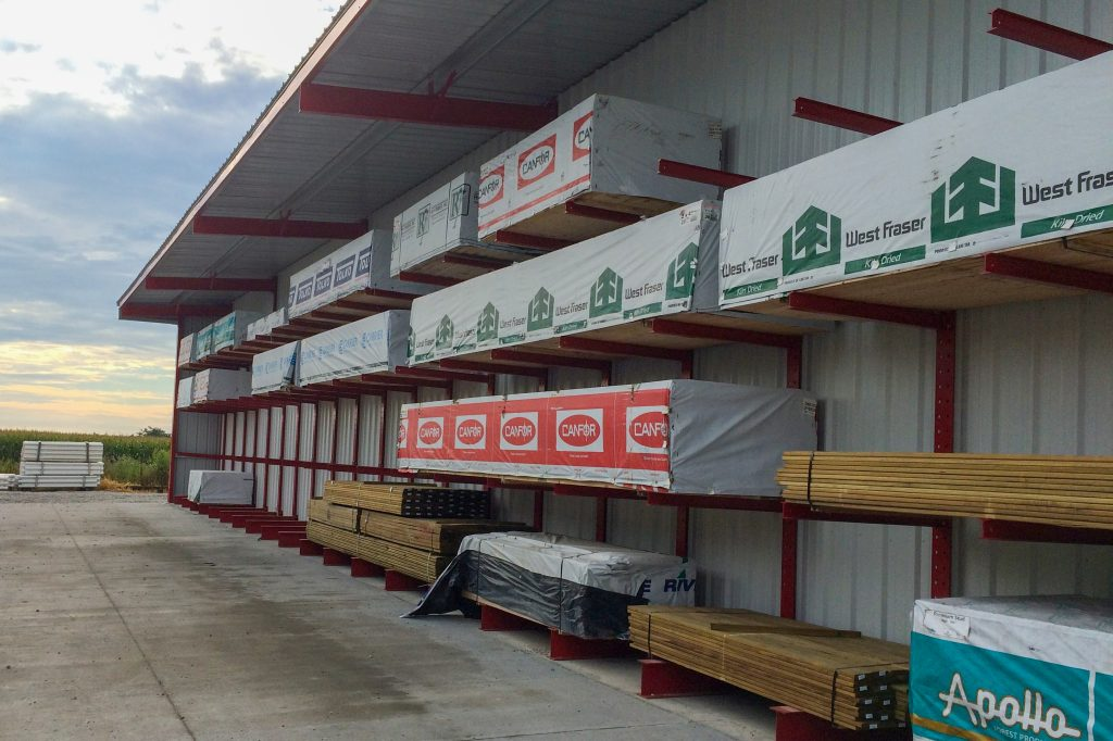 Ross Technology Industrial Storage Shed Racking Systems