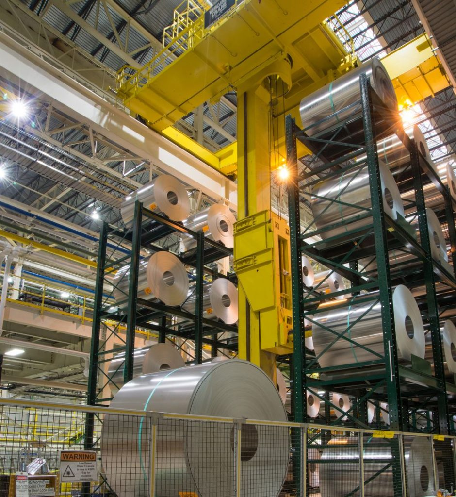 Ross Technology Dexco Coil Racking Systems for Industrial Storage Solutions