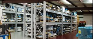 Dexco™ Heavy Duty Wide Span Racks for Henderson Stamping and Production, Inc