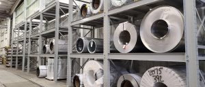 Ross Technology Dexco Widespan Industrial Storage Racking for Phoenix Metals