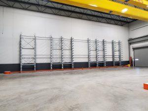 JACQUET Mid Atlantic Utilizing Ross Technology Industrial Storage Dexco Racking
