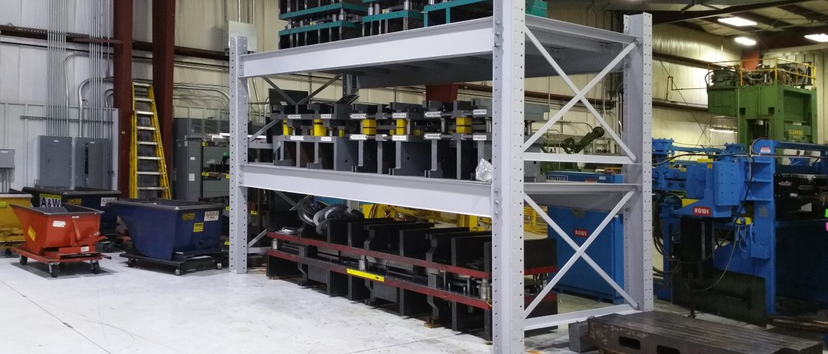 Case Study – Efficient Die Storage and Increased Production Space for Ultratech Tool & Design